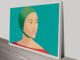 Alex Katz The Green Cap Vintage Pop Art Print