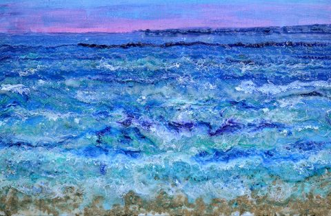 By The Beautiful Sea Abstract Ocean Wall Art Australia