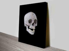 damien hirst diamond skull Wall print