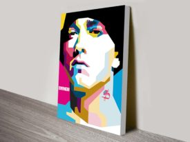eminem pop art Wall canvas