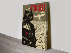Enlist With The Empire Star Wars Art