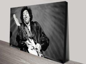 Jimi Hendrix pop art print