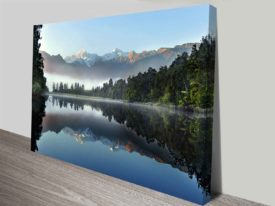 Lake Serenity Giclee Canvas Art