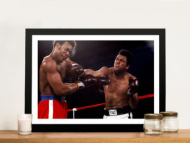 Muhammad Ali Knockout Boxing Pop Art