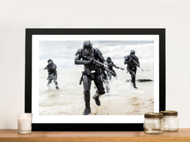 Rogue one star wars death troopers Framed Wall Art