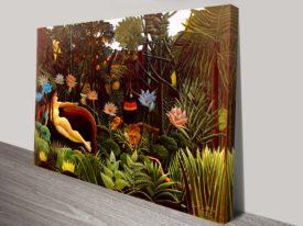 The Dream Henri Rousseau Classical Wall Art On Canvas