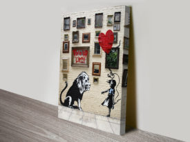 run for your lives banksy print