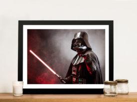 Star-wars darth Framed Wall Art Print