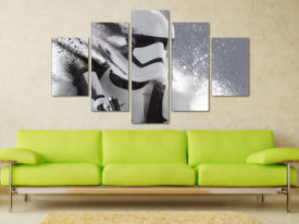 Stormtrooper Motion 5 Panel Art