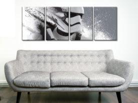 Storm Trooper Motion 4 Piece Artwork
