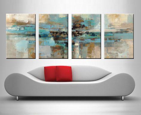 Morning Fjord Silvia Vassileva 4 Panel Art