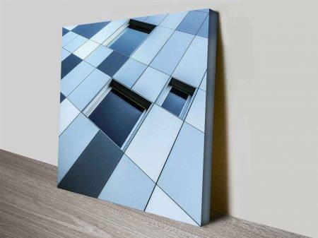 waffled wall photo print online design