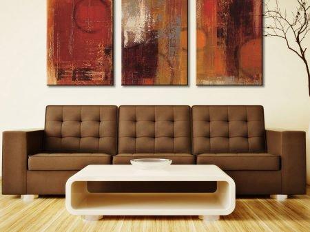 Silvia Vassileva Abstract 3 Piece Art Prints