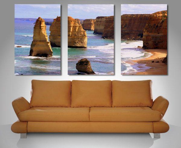 Buy a 12 Apostles Triptych Canvas Print