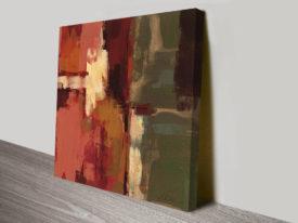 Raspberry Fields II Silvia Vassileva Abstract Canvas Print