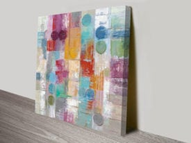 Summer Rain Silvia Vassileva Abstract Canvas Art