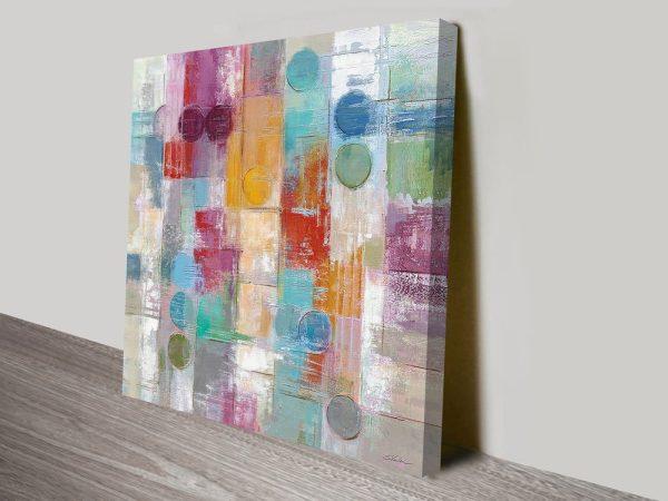 Summer Rain Silvia Vassileva Abstract Canvas Art