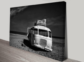 Campervan Car Wall Art Print