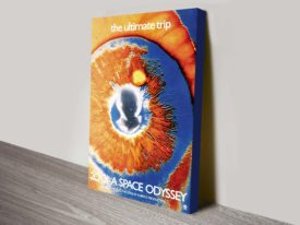 2001 Space Odyssey film poster canvas