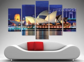 Sydney Opera House 5-Piece Wall Art Set