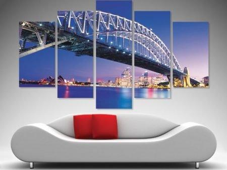 Sydney Harbour Bridge Split Diamond Art Set