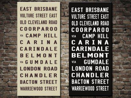 East Brisbane Bus Blind
