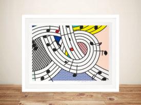 Roy Lichtenstein Composition II Wall Art Print
