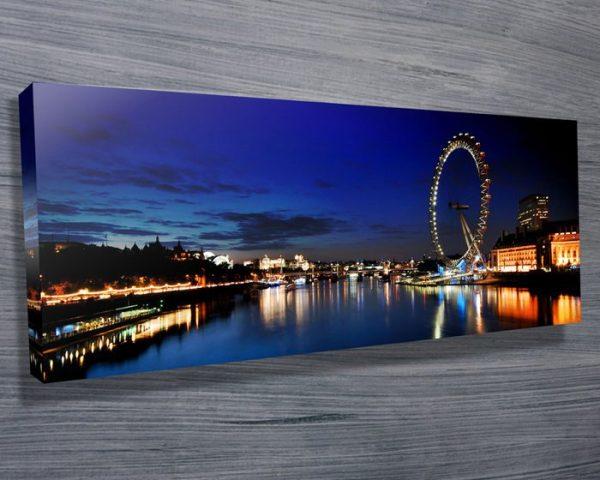 London Thames Panoramic Wall Art