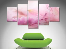 Flower Blossoms 5 panel wall art