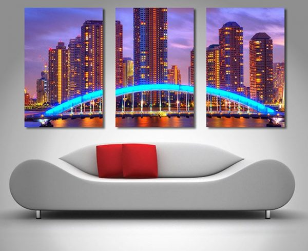 Buy a Melbourne Nights Triptych Set of Prints