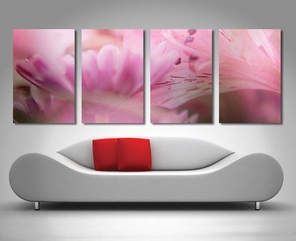 Blossoms floral split canvas