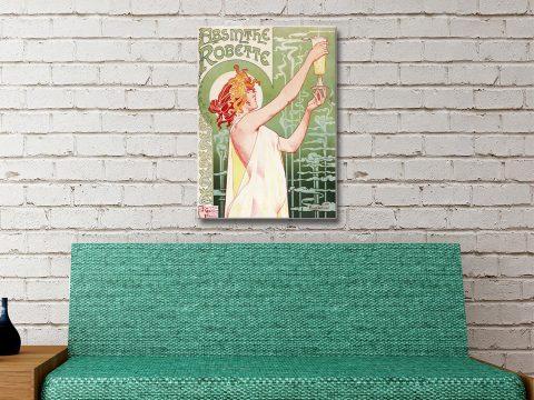Absinthe Vintage Poster Artwork