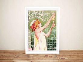 Absinthe Vintage Poster Framed Print