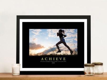 Achieve Inspirational Framed Poster Art