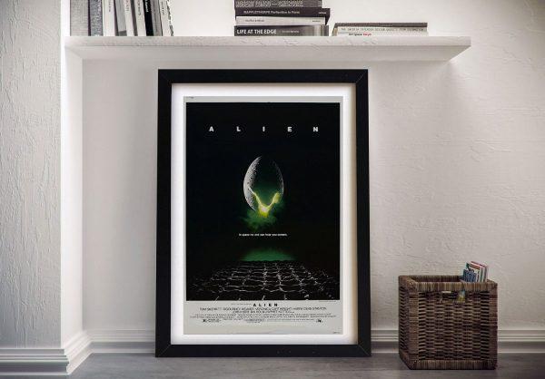 Alien Poster Framed Wall Art