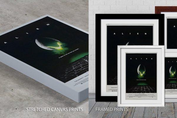 Alien Movie Quality Print