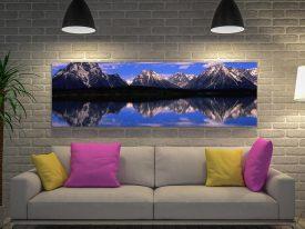 Alpine Lake Canvas Artwork