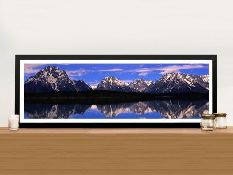 Alpine Lake Framed Wall Art