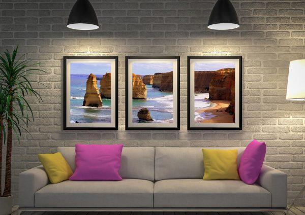 Buy Affordable Triptych Coastal Wall Art Sets AU