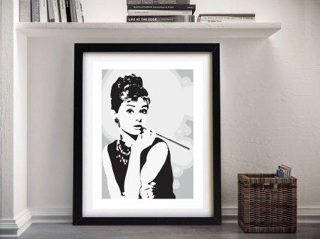 Audrey Hepburn Framed Wall Art Print