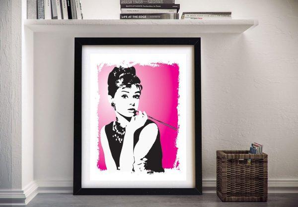Framed Audrey Hepburn Art for Sale Online