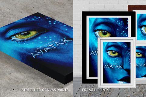Avatar Movie Poster Print