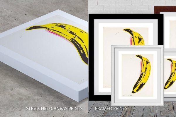 Banana Andy Warhol Quality Print