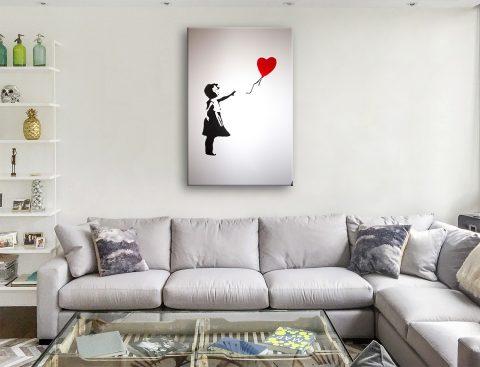 Banksy Balloon Girl Art Australia