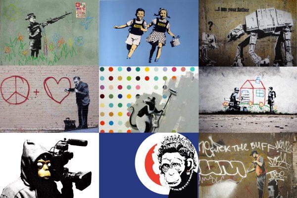 Striking Banksy Canvas Artwork Online