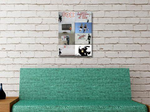 Buy Cheap Banksy Prints Amazing Gift Ideas AU