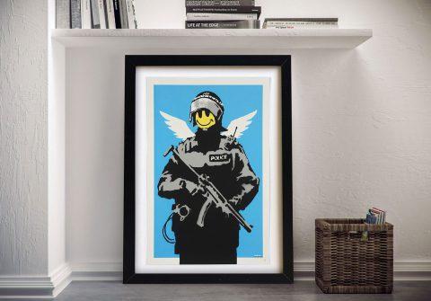 Banksy Happy Acid Soldier Wall Art