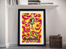 Barbarella Framed Poster print