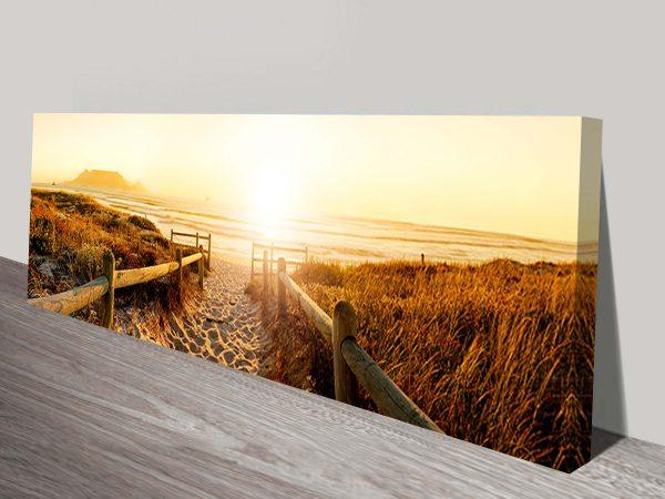 Beach Pathway Canvas Art