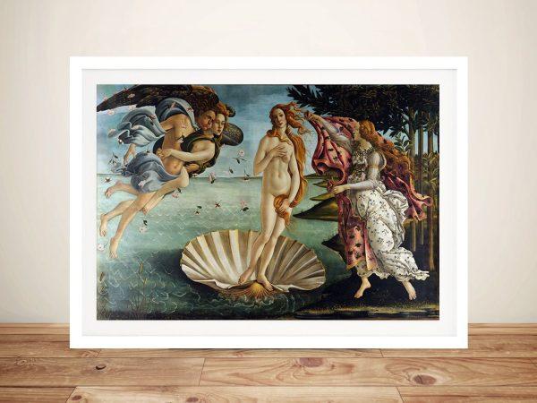 Birth of Venus Framed Wall Art